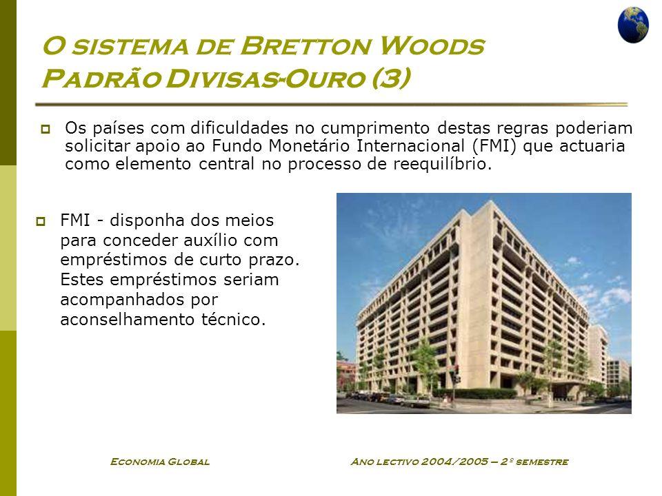 O sistema de Bretton Woods Padrão Divisas-Ouro (3)