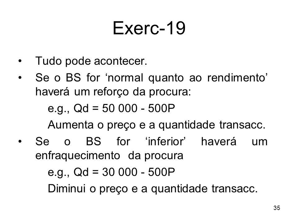 Exerc-19 Tudo pode acontecer.
