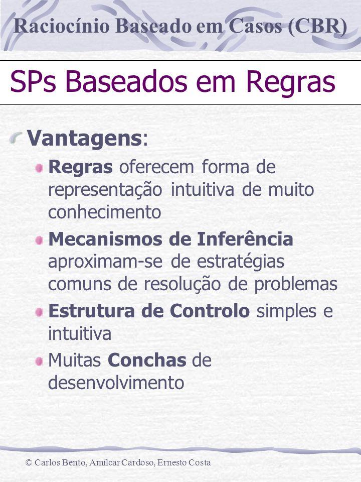SPs Baseados em Regras Vantagens: