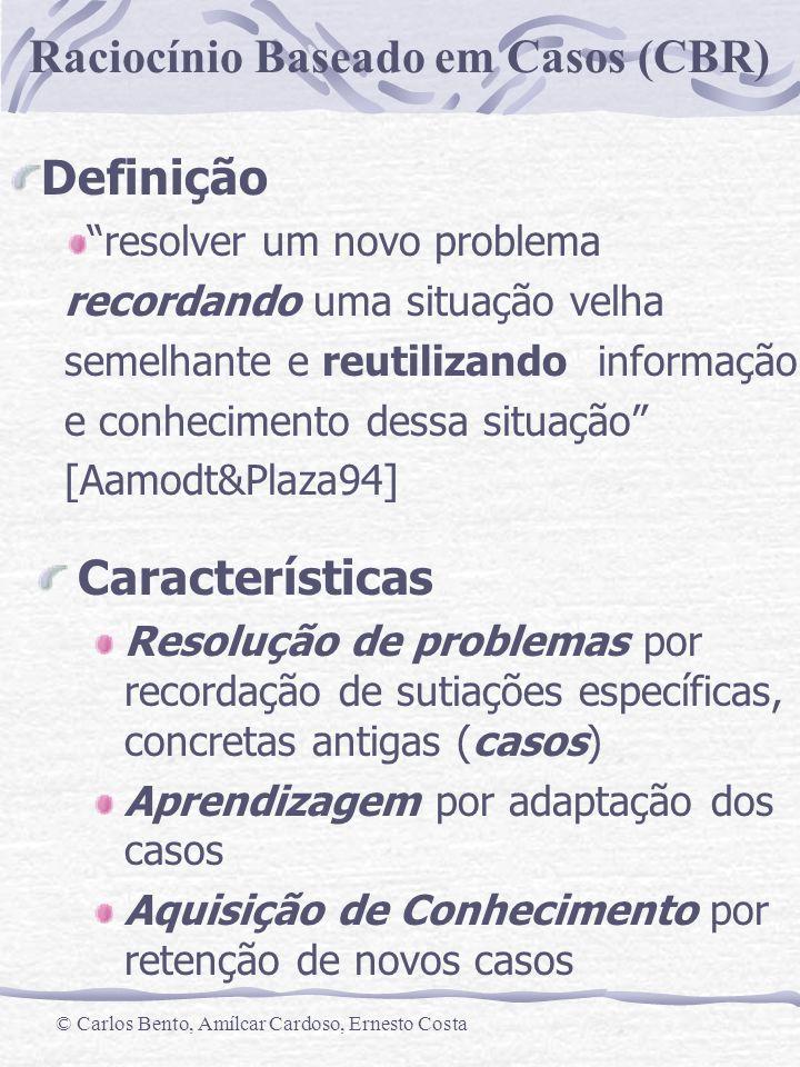 Definição Características resolver um novo problema