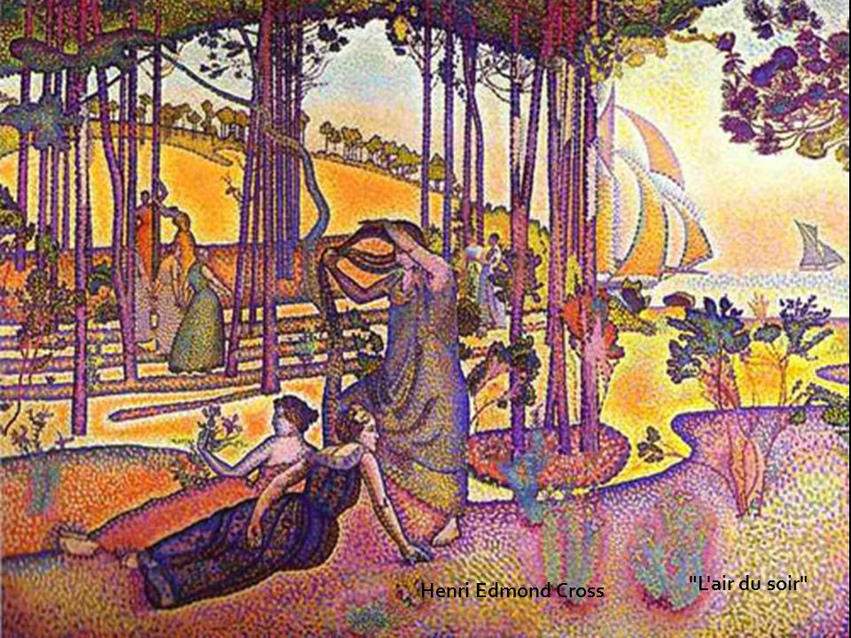L air du soir Henri Edmond Cross
