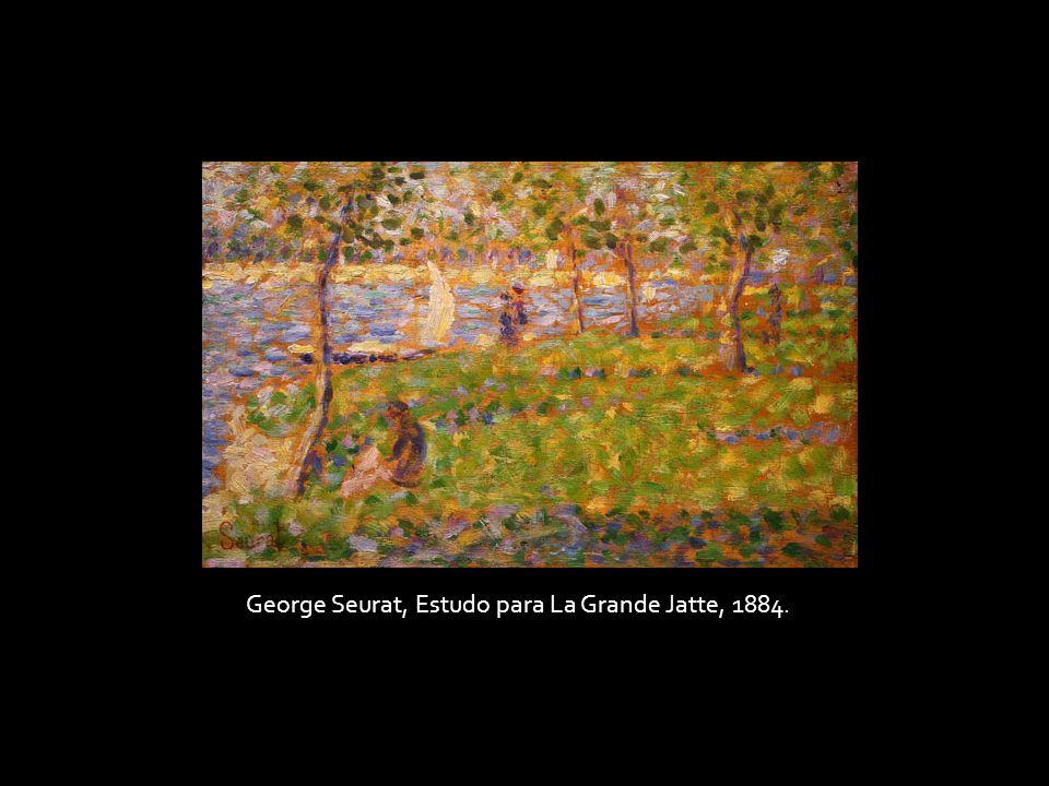 George Seurat, Estudo para La Grande Jatte, 1884.