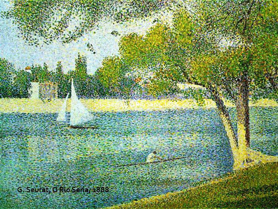 G. Seurat, O Rio Sena, 1888 G. Seurat, O Rio Sena, 1888