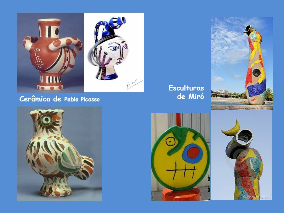 Esculturas de Miró Cerâmica de Pablo Picasso