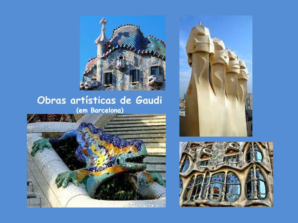Obras artísticas de Gaudi
