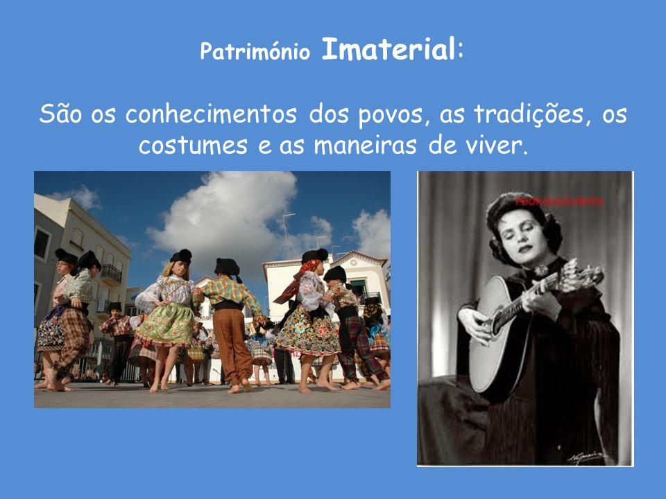 Património Imaterial: