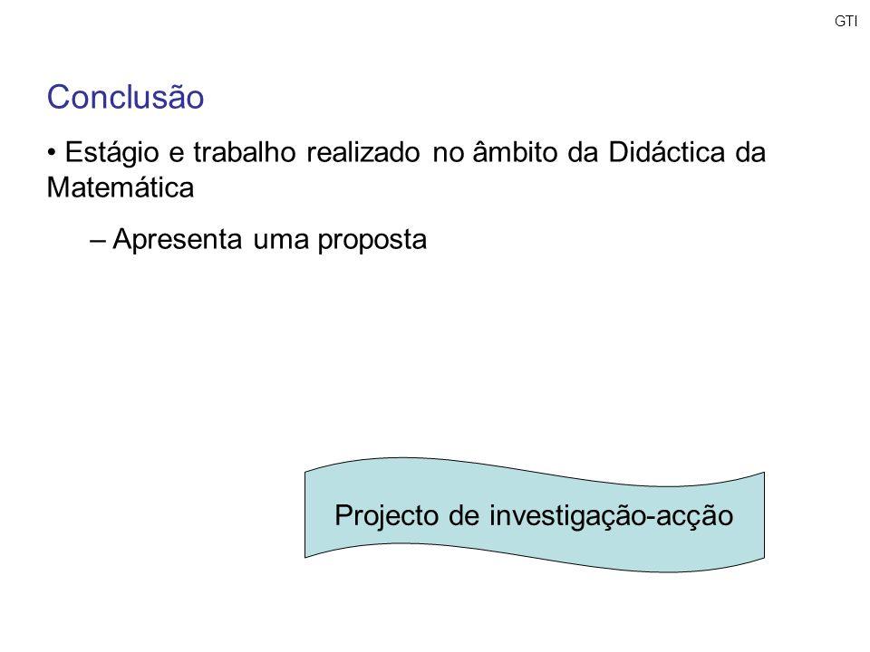 Projecto de investigação-acção