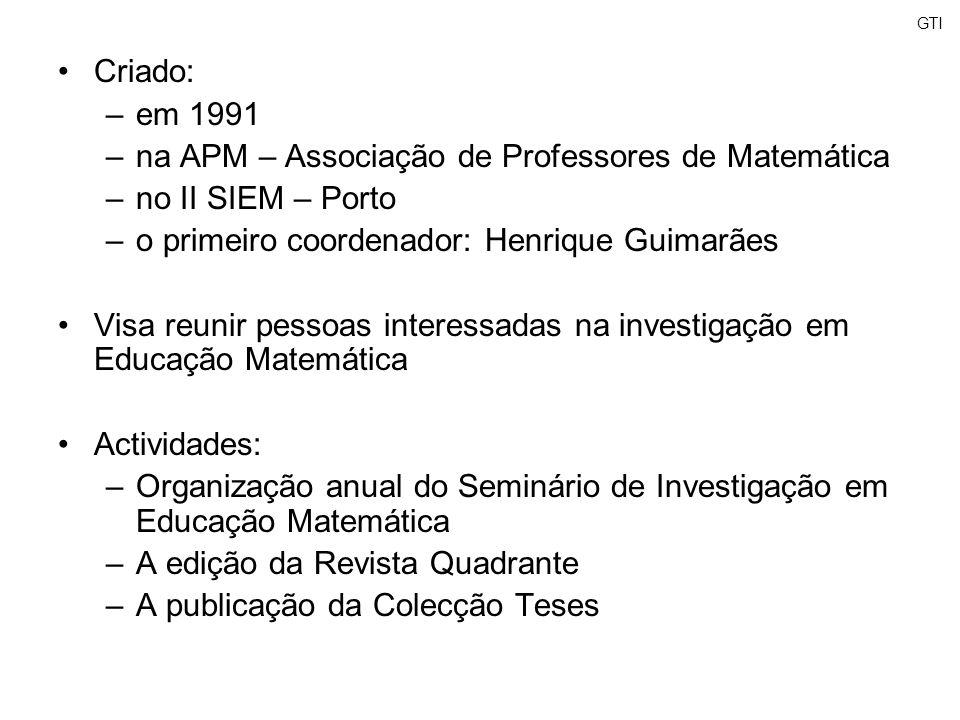 na APM – Associação de Professores de Matemática no II SIEM – Porto