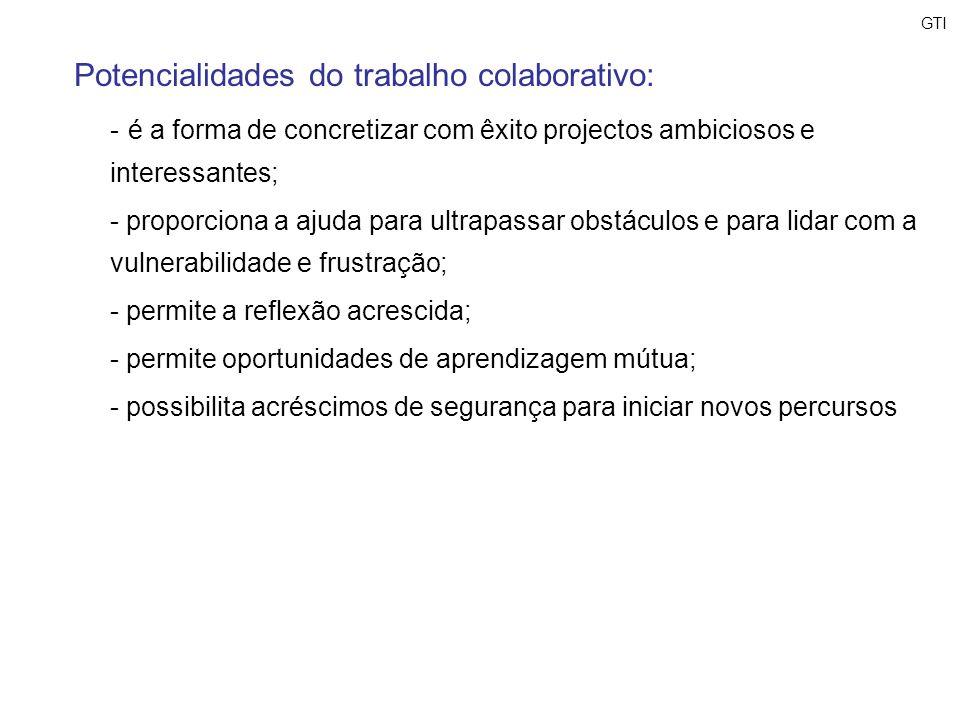 Potencialidades do trabalho colaborativo:
