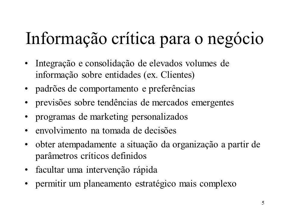 Informação crítica para o negócio