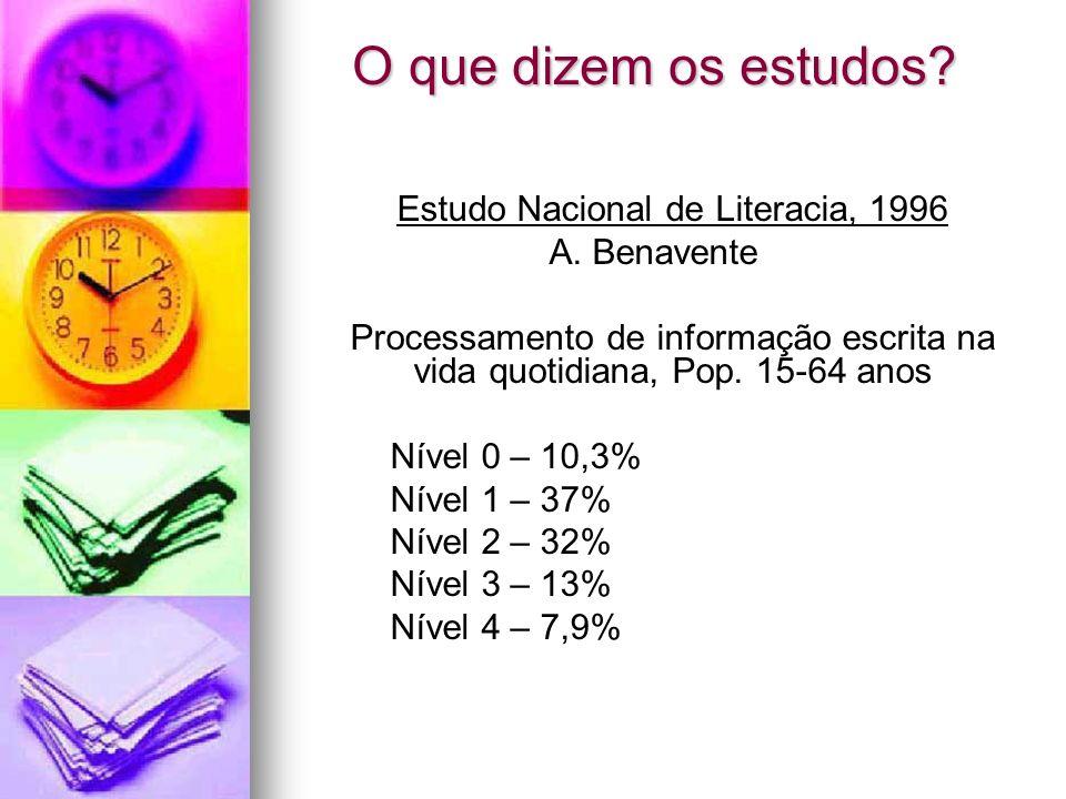 Estudo Nacional de Literacia, 1996