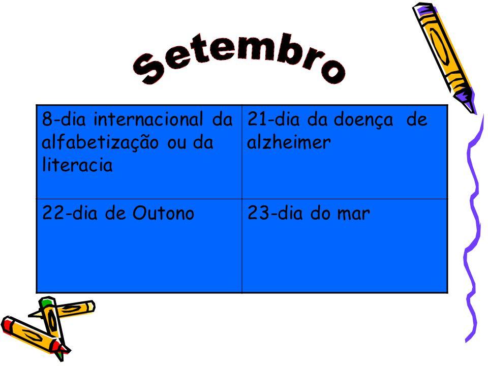 Setembro 8-dia internacional da alfabetização ou da literacia