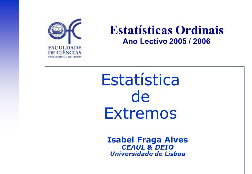 Estatística de Extremos