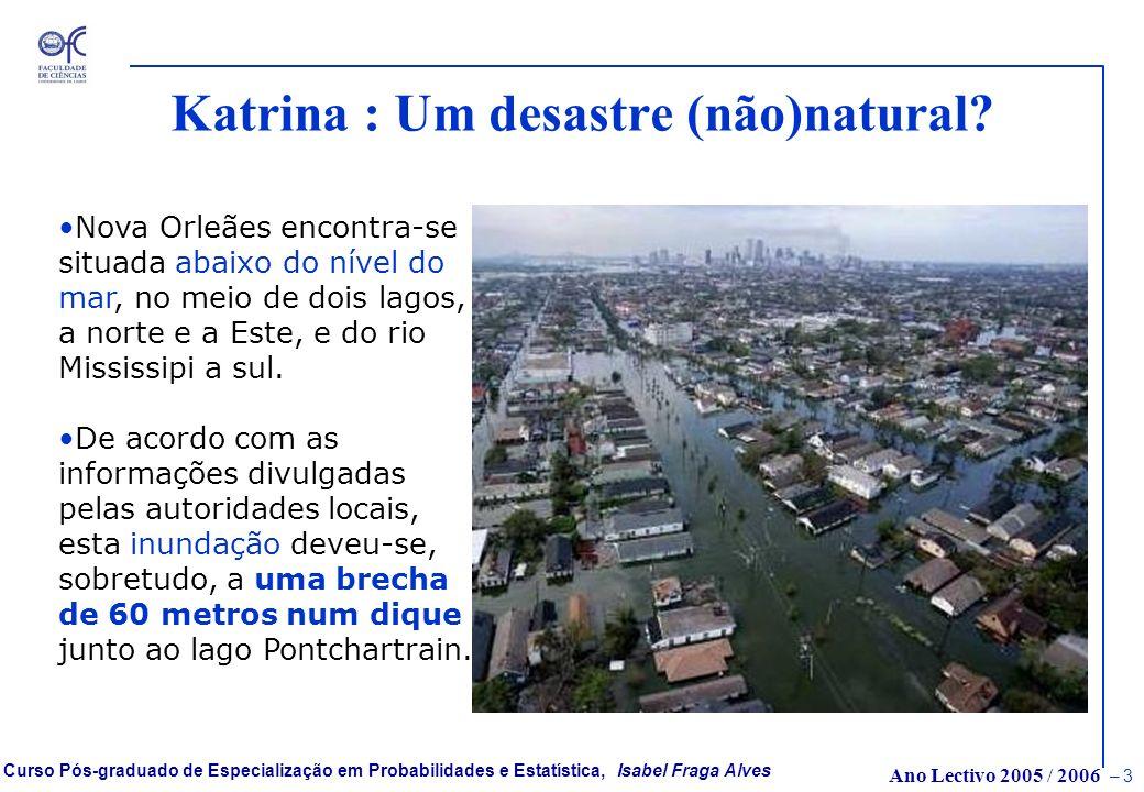 Katrina : Um desastre (não)natural