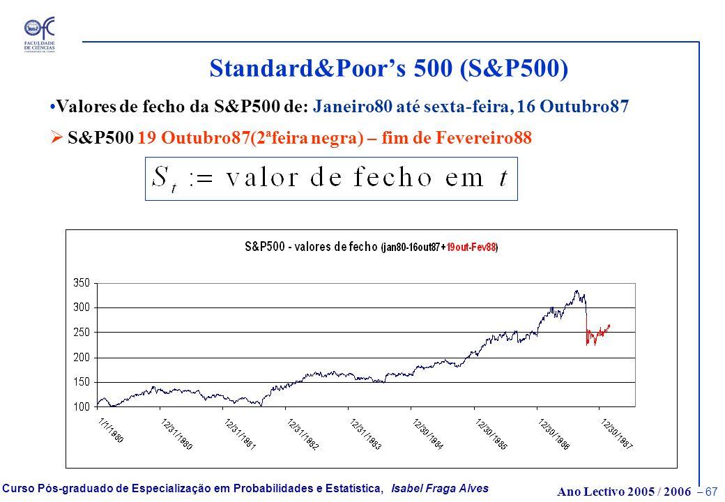Standard&Poor's 500 (S&P500)
