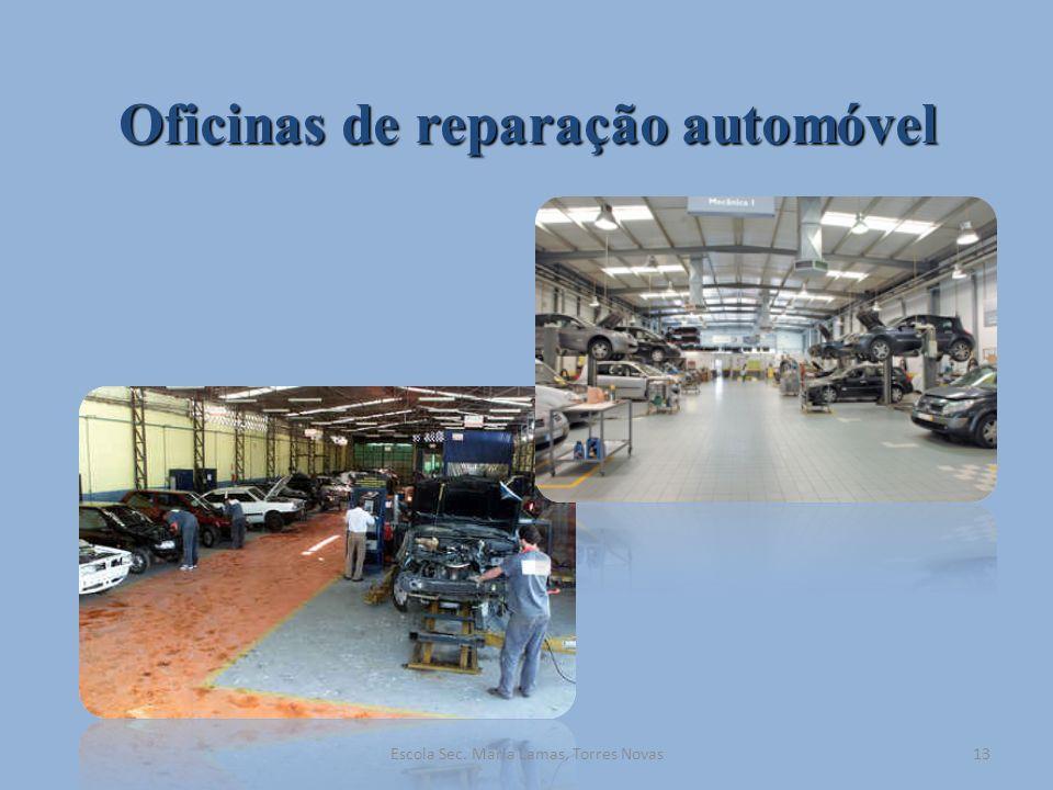 Oficinas de reparação automóvel
