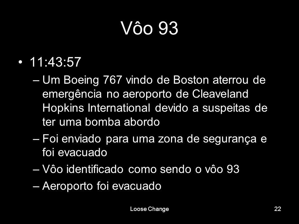 Vôo 93 11:43:57.
