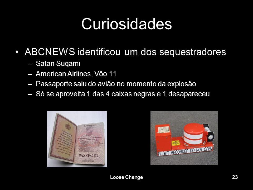 Curiosidades ABCNEWS identificou um dos sequestradores Satan Suqami