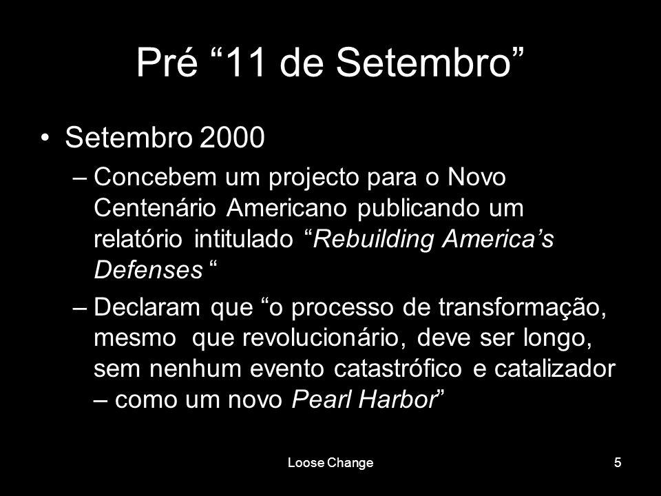 Pré 11 de Setembro Setembro 2000