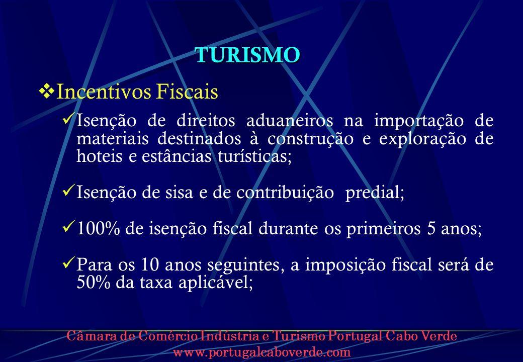 TURISMO Incentivos Fiscais