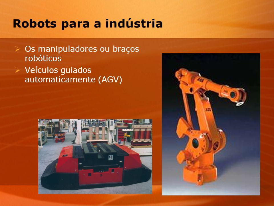 Robots para a indústria