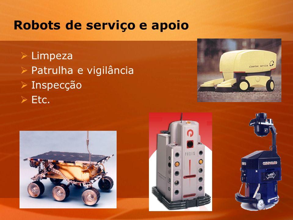 Robots de serviço e apoio