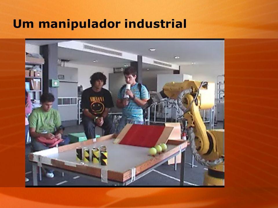 Um manipulador industrial