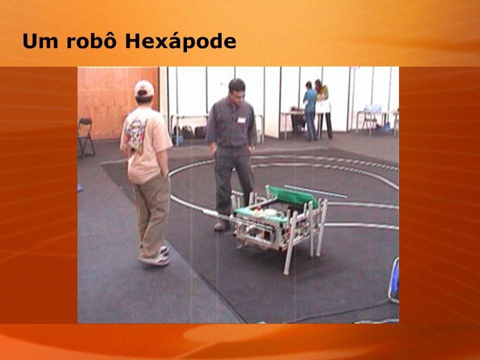 Um robô Hexápode