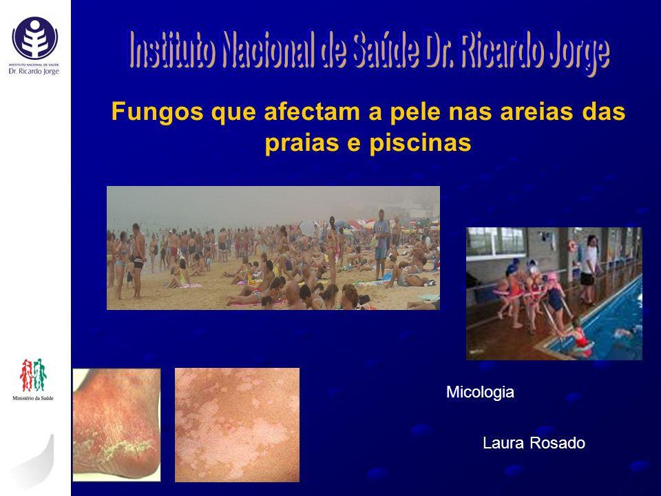 Fungos que afectam a pele nas areias das praias e piscinas