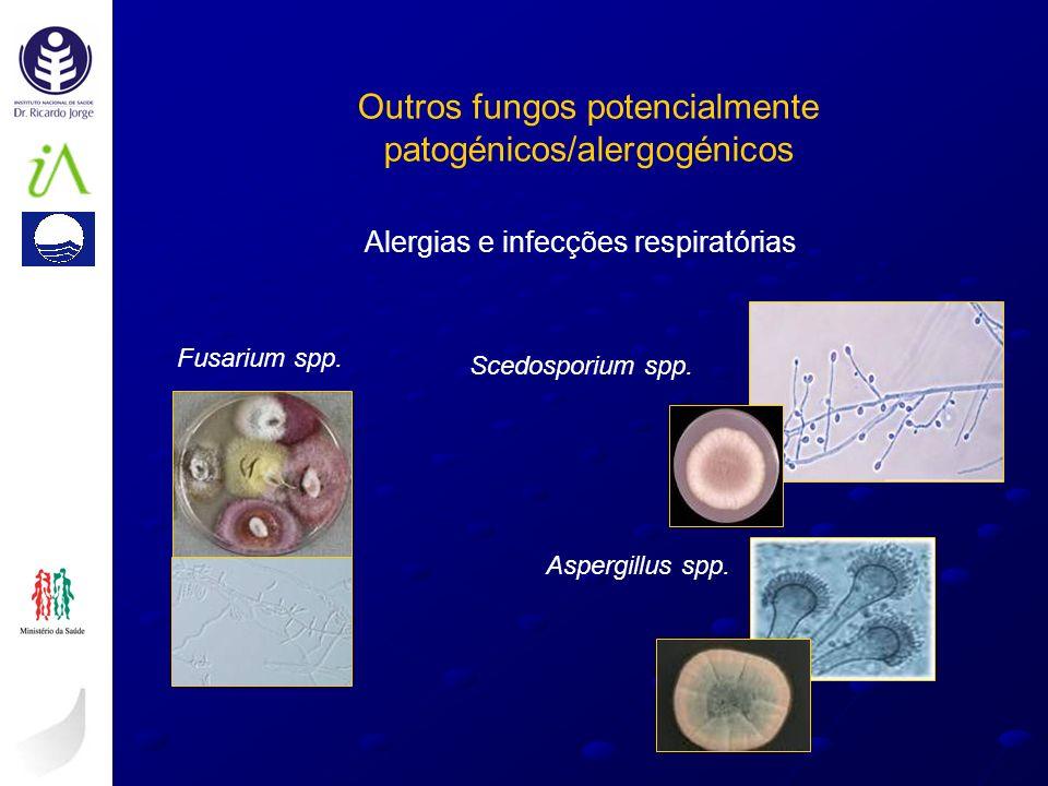Outros fungos potencialmente patogénicos/alergogénicos