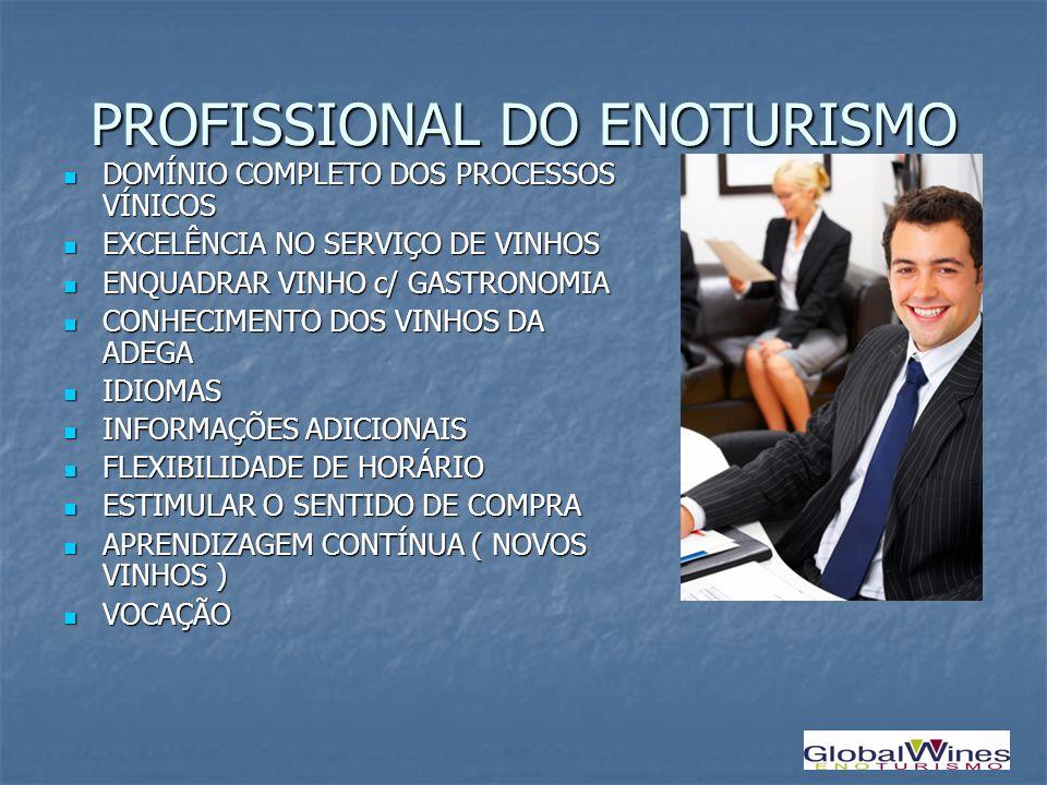 PROFISSIONAL DO ENOTURISMO