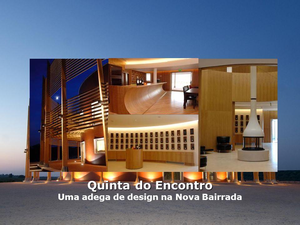Uma adega de design na Nova Bairrada