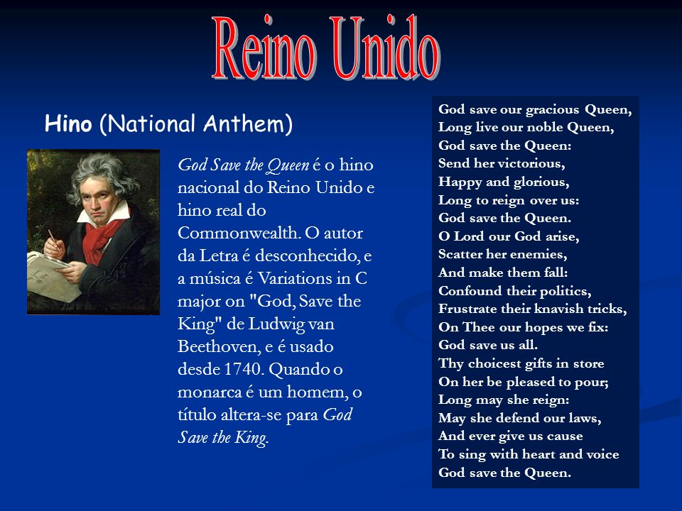 Reino Unido Hino (National Anthem)
