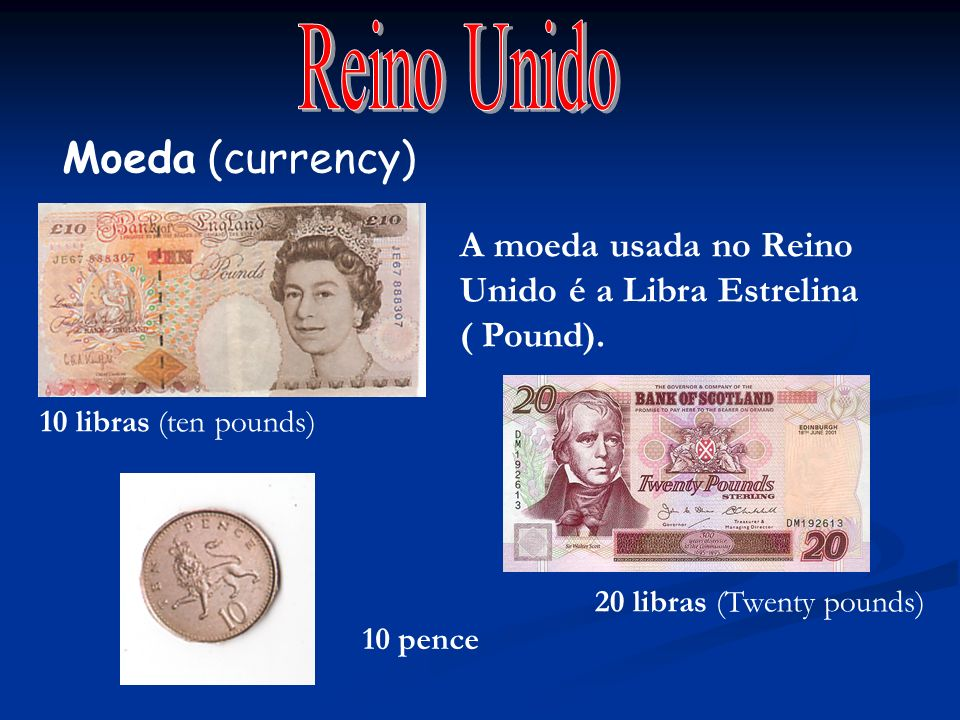 Reino Unido Moeda (currency)