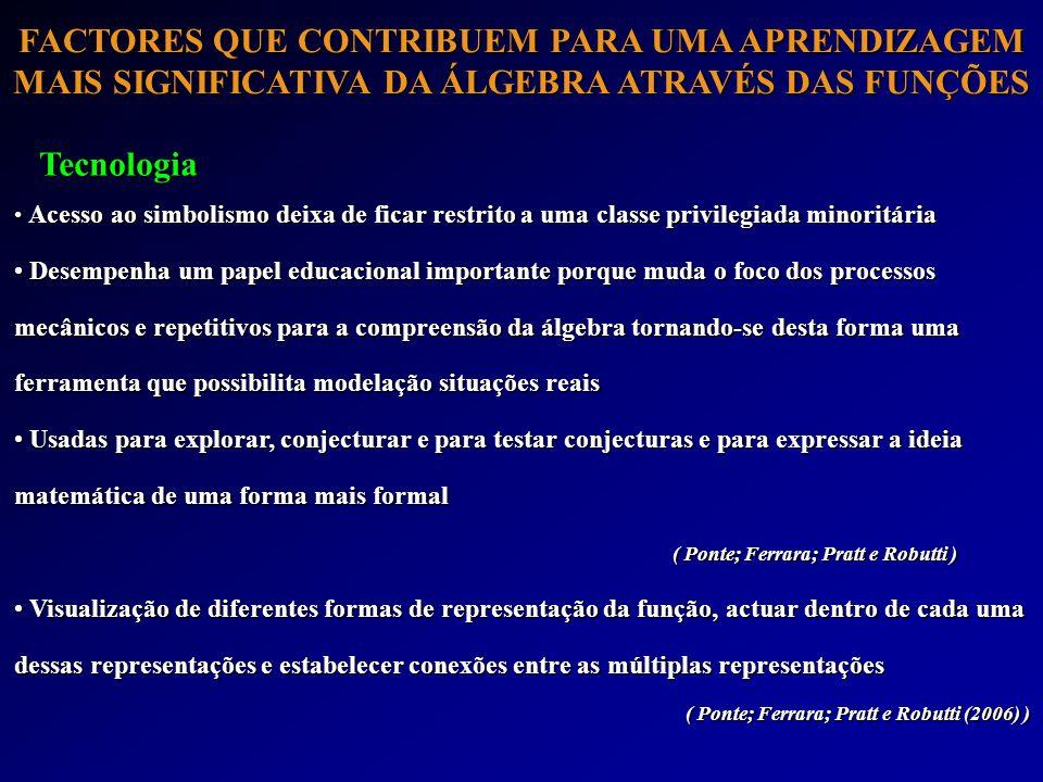 ( Ponte; Ferrara; Pratt e Robutti (2006) )
