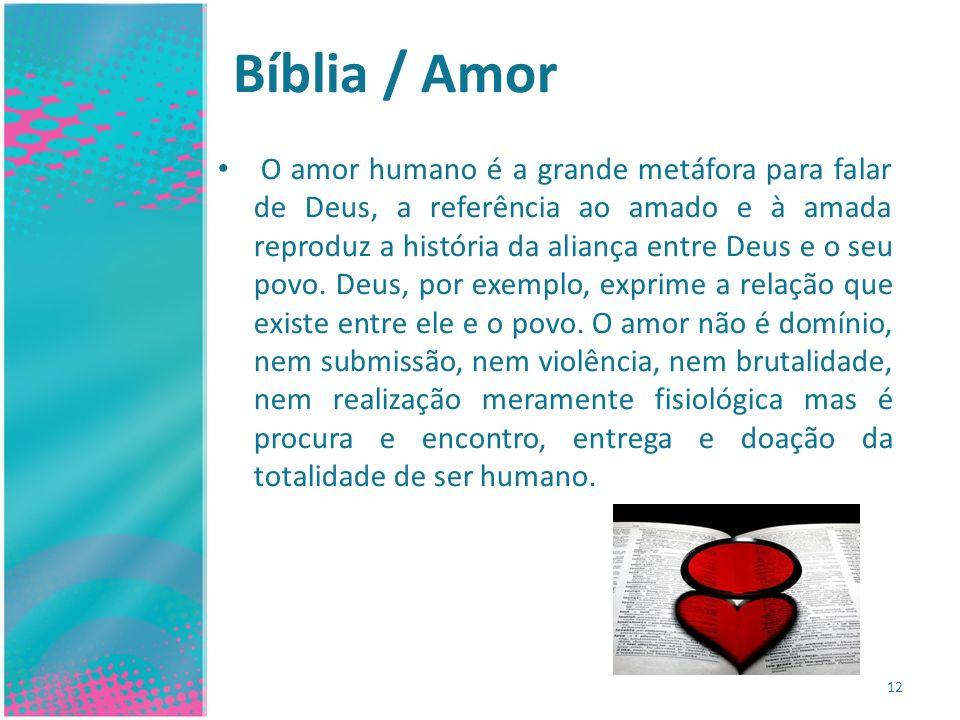 Bíblia / Amor