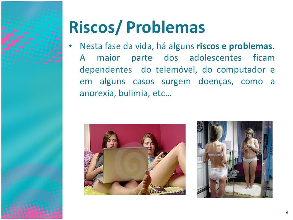 Riscos/ Problemas