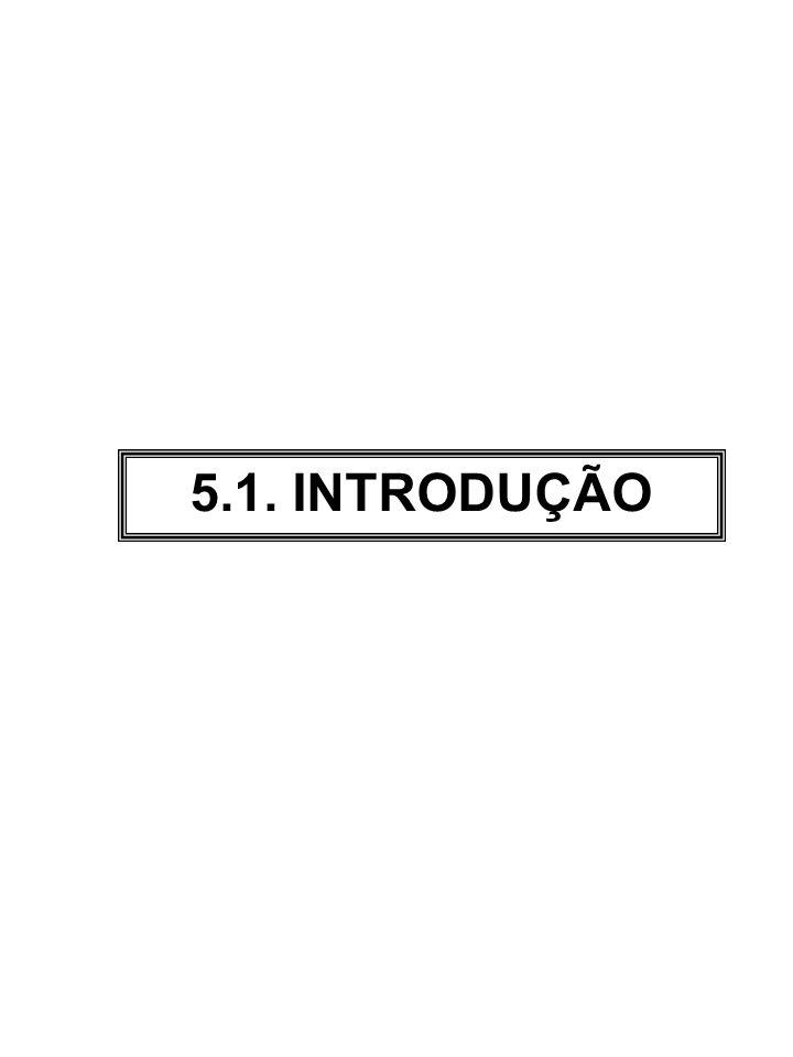 5.1. INTRODUÇÃO