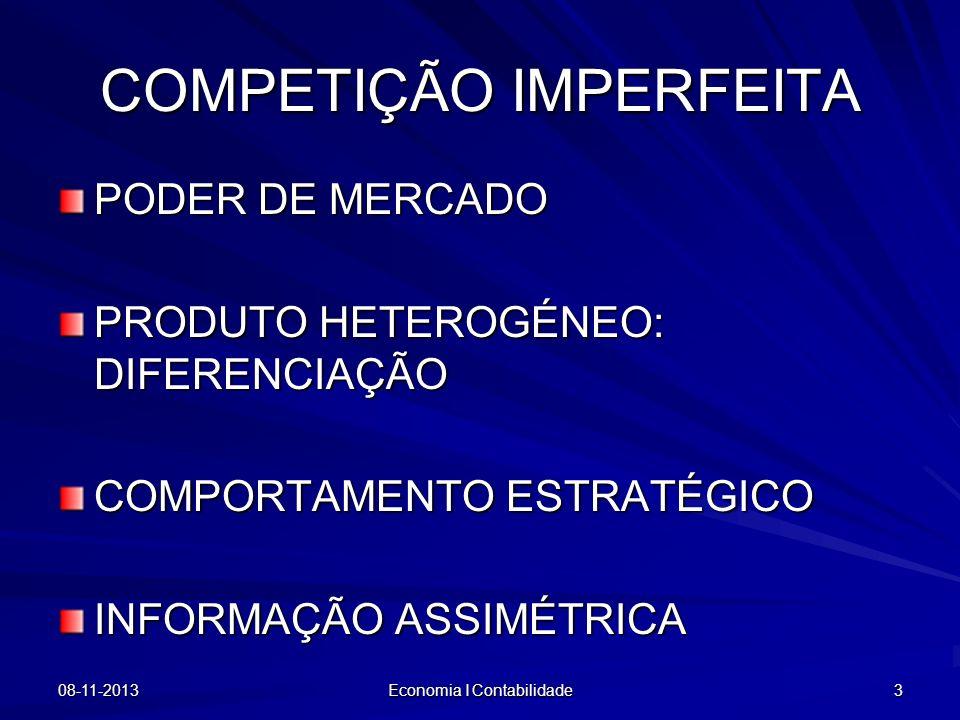 COMPETIÇÃO IMPERFEITA