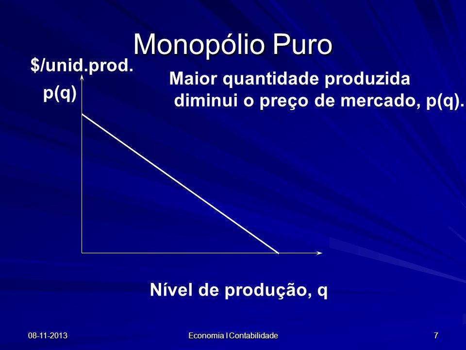 Economia I Contabilidade