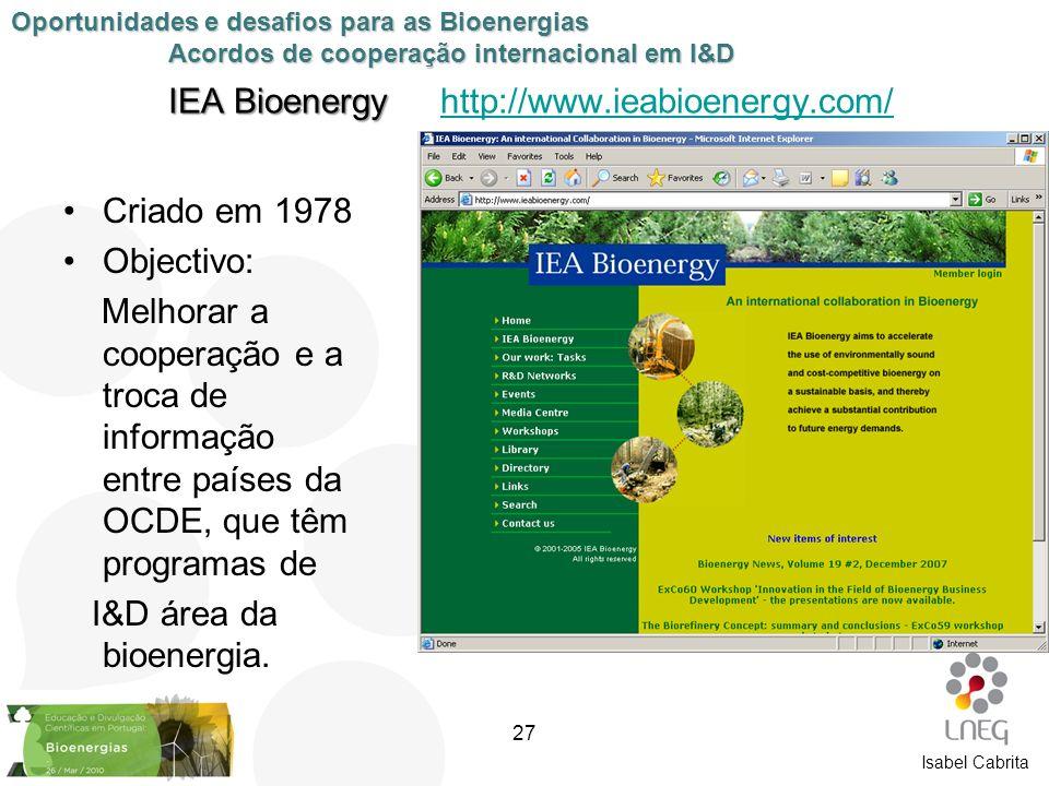 IEA Bioenergy http://www.ieabioenergy.com/