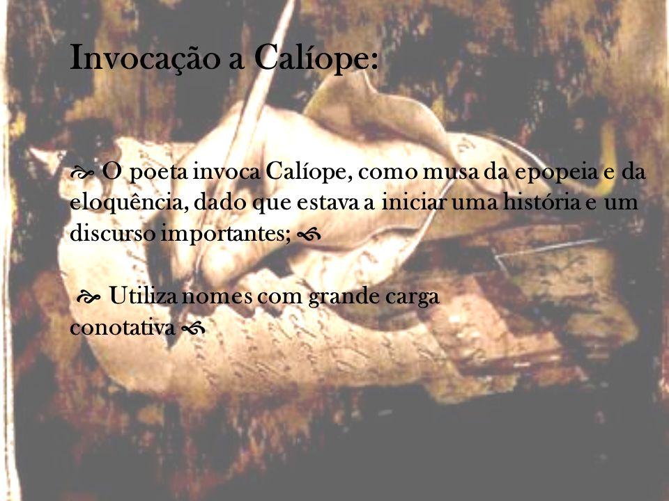 Invocação a Calíope:
