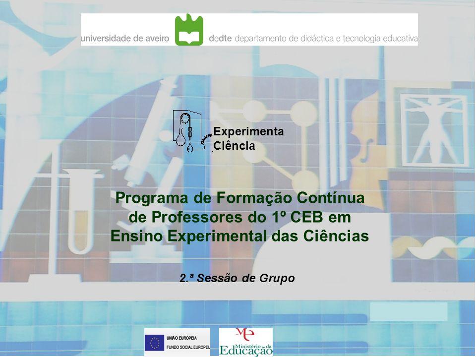 Programa de Formação Contínua de Professores do 1º CEB em