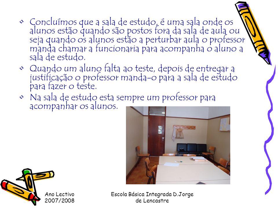 Escola Básica Integrada D.Jorge de Lencastre