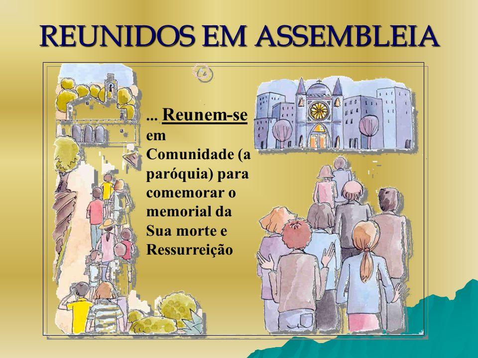 REUNIDOS EM ASSEMBLEIA