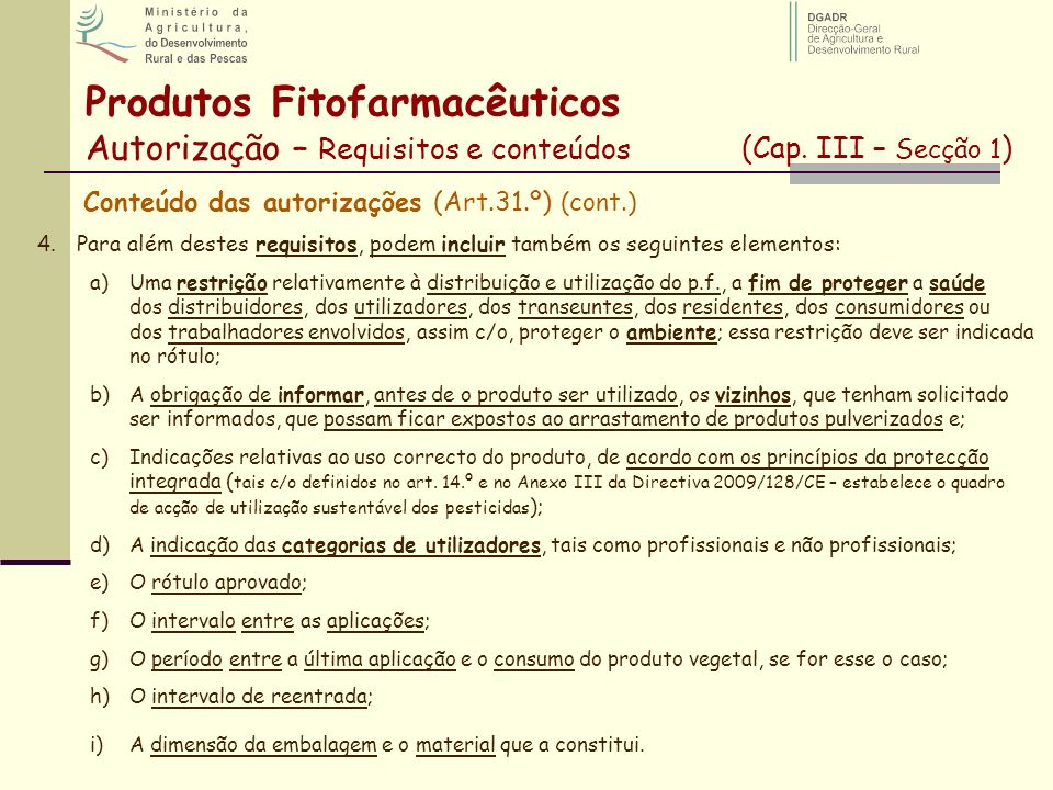 Produtos Fitofarmacêuticos