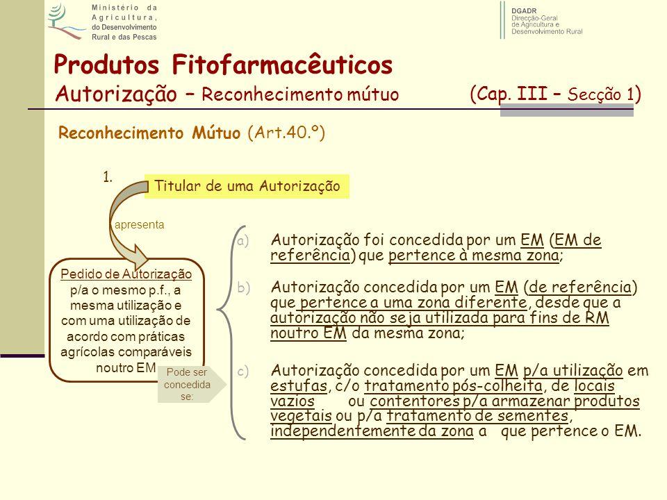 Reconhecimento Mútuo (Art.40.º)