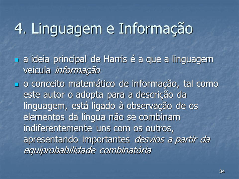 4. Linguagem e Informação