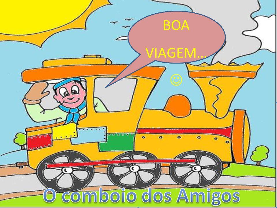 O comboio dos Amigos BOA VIAGEM… Divirtam-se no comboio dos números!