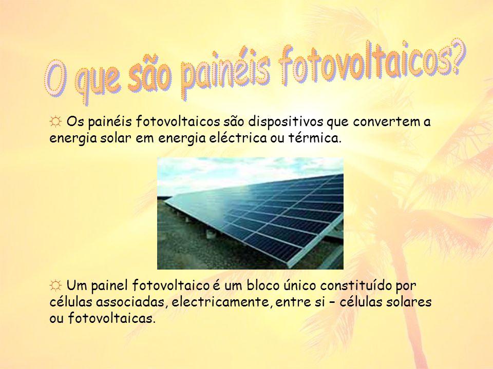 O que são painéis fotovoltaicos